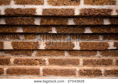 Laterite wall background