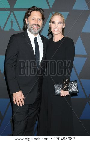 LOS ANGELES - NOV 18:  Jeremy Clifford, Jennifer Fox at the 10th Annual Governors Awards at the Ray Dolby Ballroom on November 18, 2018 in Los Angeles, CA