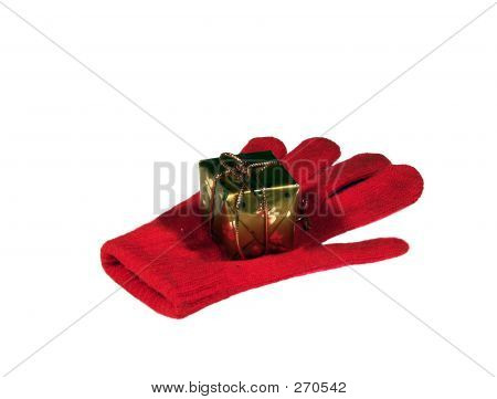 Glove And Present