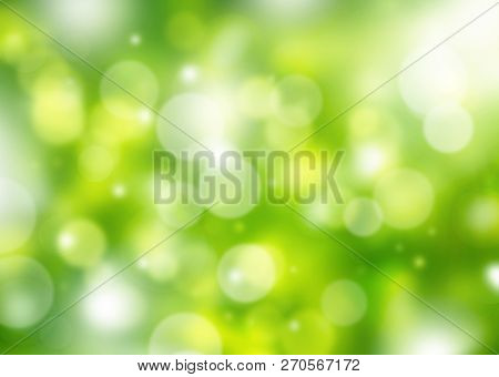 Background, Nature, Bokeh, Abstract, Light, Green, Bright, Blurred, Pattern, Blur, Color, Natural, C