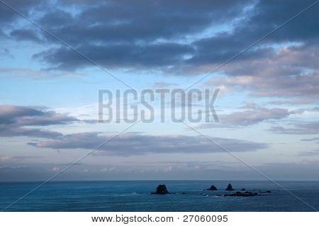 Small Islands Near Cape Foulwind