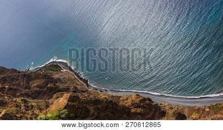 Highest View Point Cabo Girao, Madeira Island, Portugal.