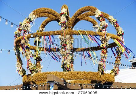 Harvest Crown At A Fair