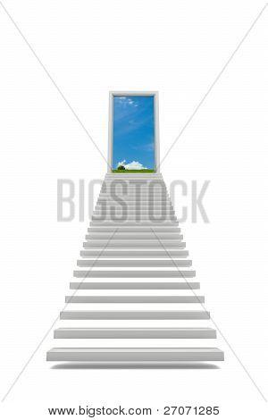 Schritte zum Himmel