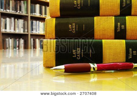 Law Books Table R