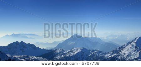 Mountains Top Panorama