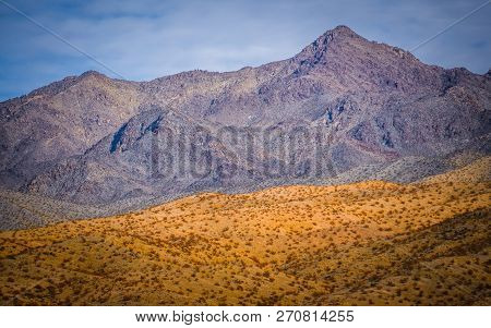 Red Rock Canyon Landscape Near Las Vegas Nevada