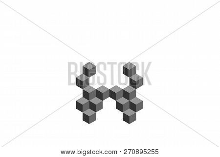 Letter H Cube Logo Vector & Photo (Free Trial) | Bigstock