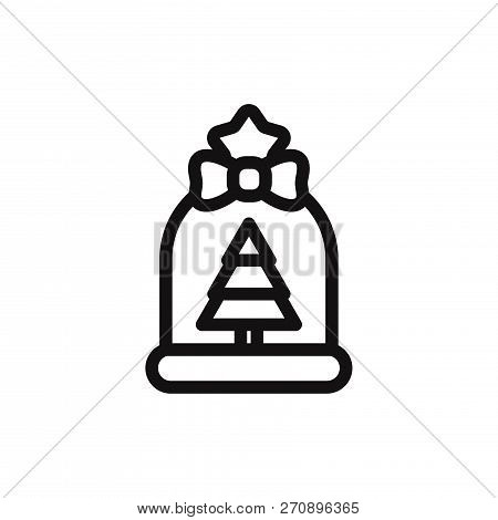 Gift Bag Icon Isolated On White Background. Gift Bag Icon In Trendy Design Style. Gift Bag Vector Ic