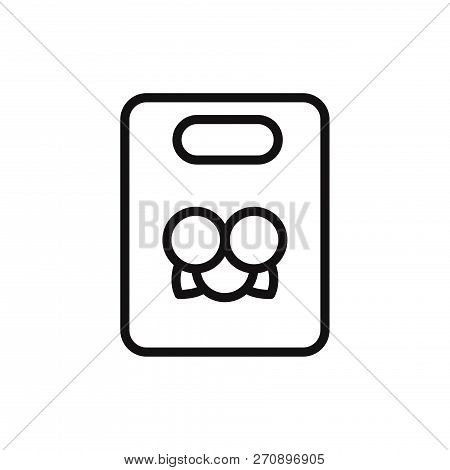 Bag Icon Isolated On White Background. Bag Icon In Trendy Design Style. Bag Vector Icon Modern And S