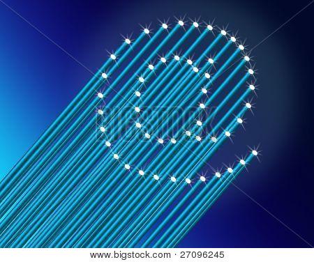 High Speed Broadband Concept.