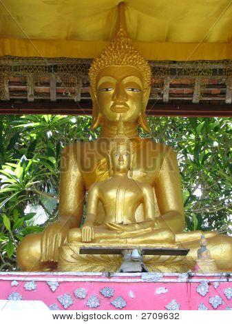 Laotian Buddha Pair