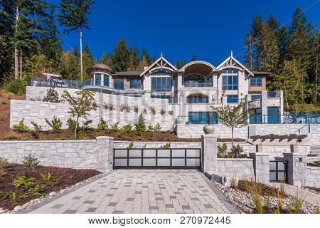 Luxury house in Vancouver, Canada.