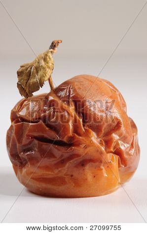 Rotten apple. Conceptual.