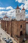 Church of Convento de San Felipe Neri monastery, Sucre, Bolivia poster