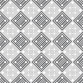 Seamless pattern. Modern regularly repeating geometrical texture with repetition rhombus diamond tiles. Vector element of graphical design poster