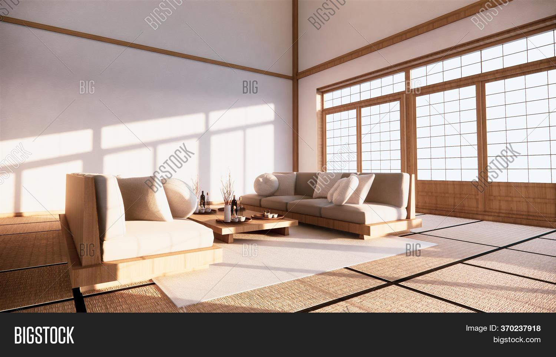 Sofa Japanese Style On Image Photo Free Trial Bigstock