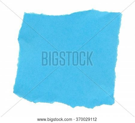 Colored Paper With Ragged Edges. Background For Greetings, Invitations. Item For Scene Creator, Othe