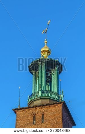 Stockholm City Hall Is The Building Of The Municipal Council For The City Of Stockholm In Sweden. To