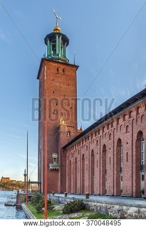 Stockholm City Hall Is The Building Of The Municipal Council For The City Of Stockholm In Sweden
