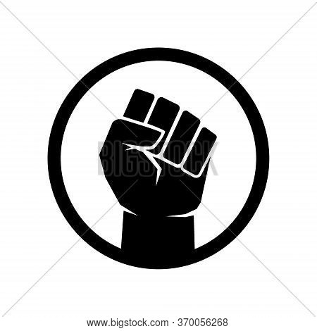 Raised Fist Symbol, Black Lives Matter Fist Sign