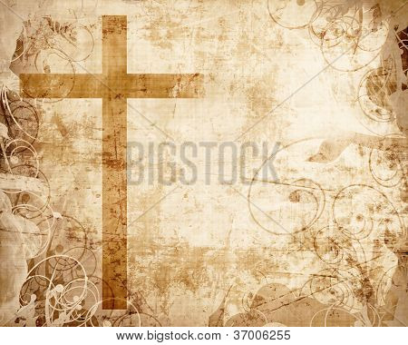 Cross On Parchment