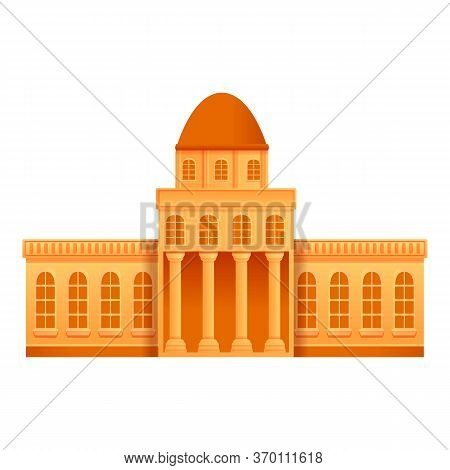Public Museum Icon. Cartoon Of Public Museum Vector Icon For Web Design Isolated On White Background