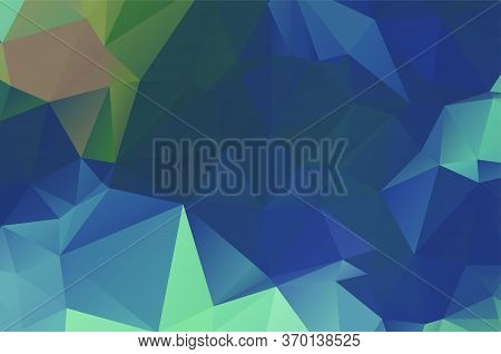 Dark Multicolor Vector Texture With Colored Low Poly Background Decorative Vector
