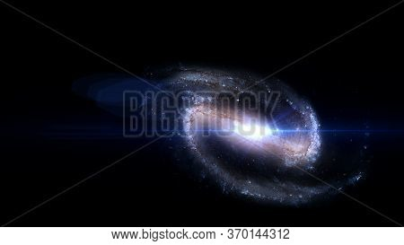 Planets And Galaxies, Science Fiction Wallpaper. Beauty Of Deep Space. Billions Of Galaxies In The U