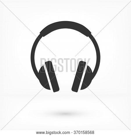 Headphone Vector Icon, Headphone Vector Icon, In Trendy Flat Style Isolated On White Background. Hea