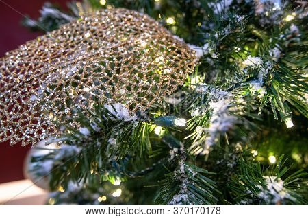 Christmas Tree Decorations During The Holiday Season