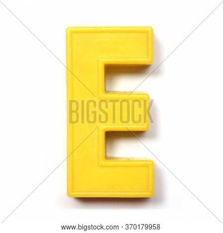 Magnetic Uppercase Letter E