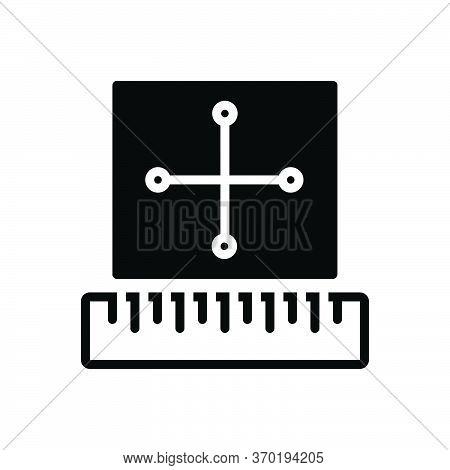 Black Solid Icon For Rule Regulations Precept Method