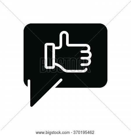 Black Solid Icon For Thanks Gratitude Thankfulness Felicitation Abhinandan Congratulation