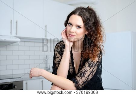 Young Woman Stays Home