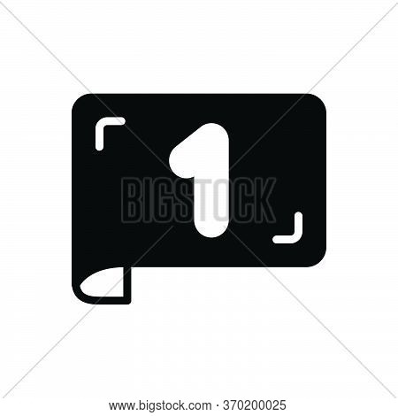 Black Solid Icon For Page-number Count Number Document Page Number  Pagination