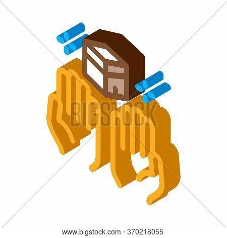 Desire For Glorified Icon Vector. Isometric Desire For Glorified Sign. Color Isolated Symbol Illustr