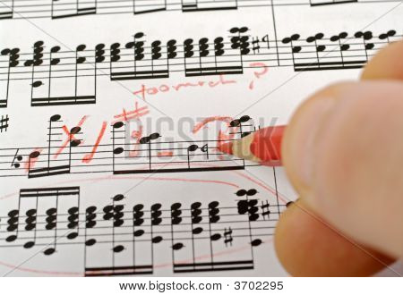 Music Notes Composing