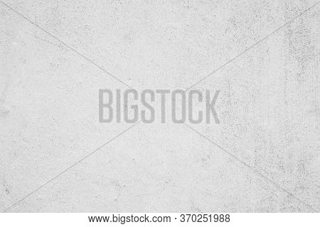 White Concrete Wall Texture Background. Building Pattern Surface