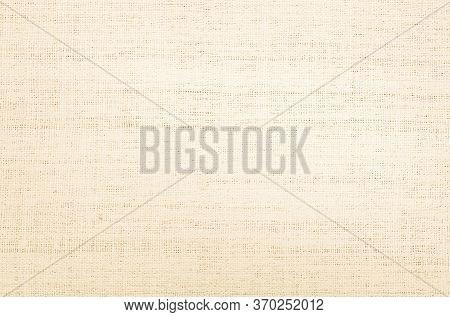 Brown Hemp Rope Texture Background. Sackcloth Or Blanket Wale Li