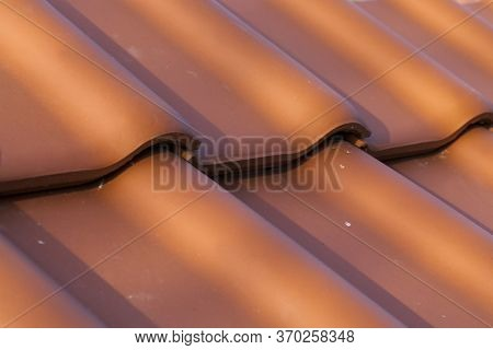 Real Clay Tiles To Protect Homes And Other Structures From Weather, Rain, Snow And Other Precipitati