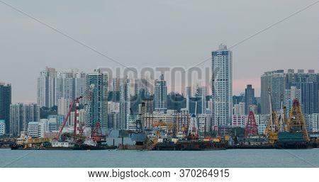 To Kwa Wan, Hong Kong 15 April 2020: Hong Kong city