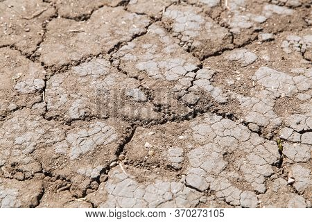 Dry Cracked Earth. Example Of Changing Climate. Example Of Changing Climate. Drought