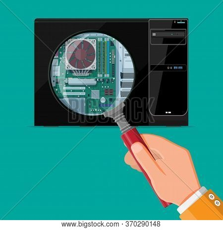 pc hardware concept vector photo free trial bigstock bigstock