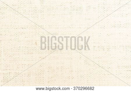 Cream Abstract Cotton Towel Mock Up Template Fabric On Backgroun