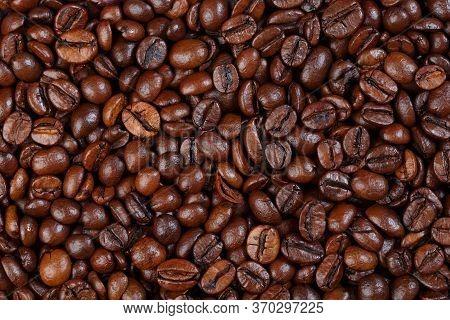 Texture Of Caramel Latte Gourmet Coffee . Coffee With Hazelnut Smell Caramel Latte.
