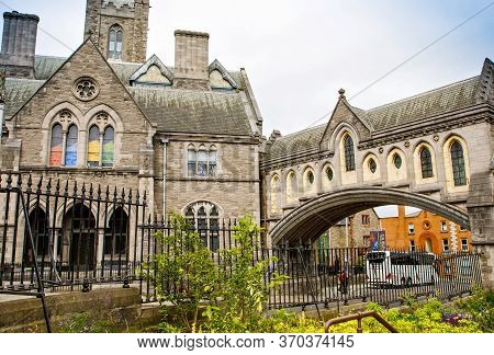Dublin, Ireland - July 1, 2019: Christ Church Cathedral, Cathedral Of Holy Trinity, Is The Cathedral