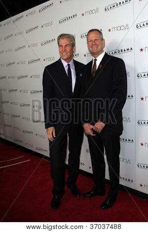 LOS ANGELES - SEP 7:  Terry J. Lundgren, Craig Thompson arrives at the Macy's Passport 30th Glamorama at Orpheum Theater on September 7, 2012 in Los Angeles, CA