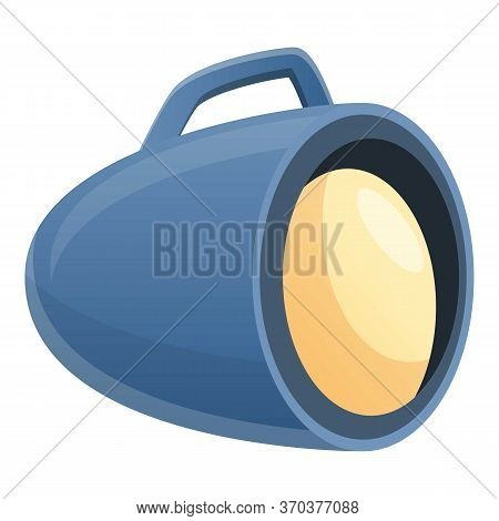 Stage Director Spotlight Icon. Cartoon Of Stage Director Spotlight Vector Icon For Web Design Isolat