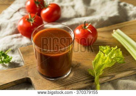 Homemade Spicy Tomato Juice